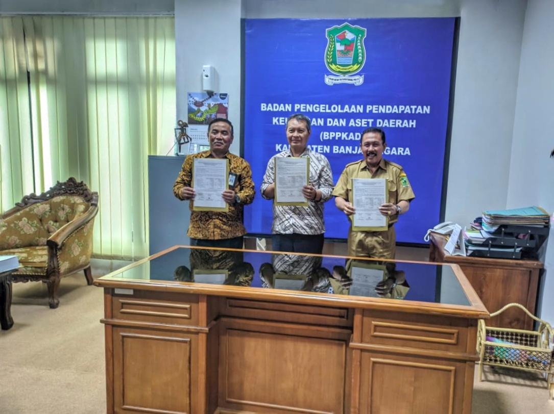 Rapat Rekonsiliasi Pajak III antara BPPKAD Kab. Banjarnegara, KPP Pratama Purbalingga, dan KPPN Banjarnegara
