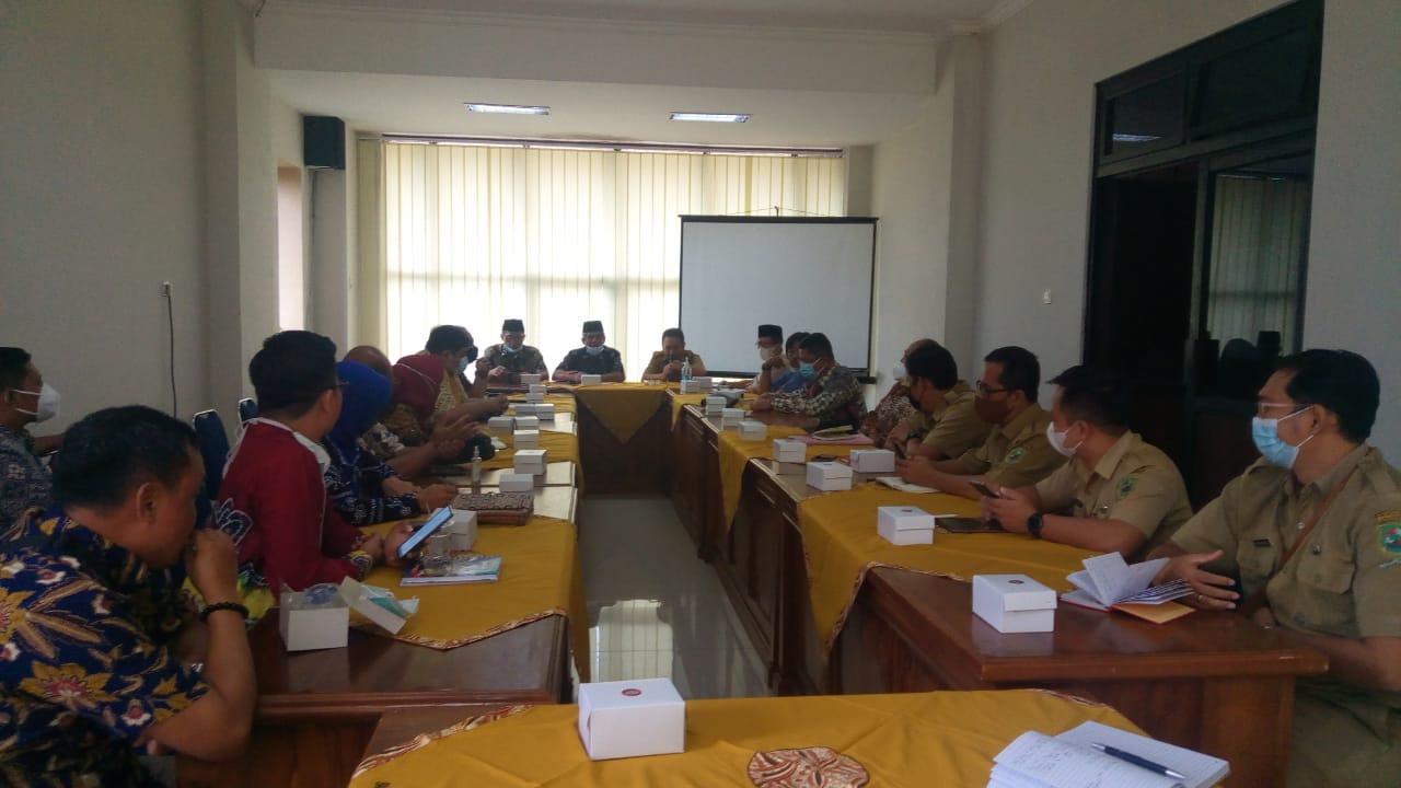 BPKKAD Kab. Banjarnegara dan Pansus II DPRD Kota Tegal Berdiskusi Bersama Membahas Raperda tentang Pengelolaan Keuangan Daerah
