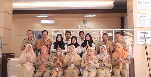 Ucapan Selamat Idul Fitri 1442H, Sekretariat BPPKAD Kab. Banjarnegara